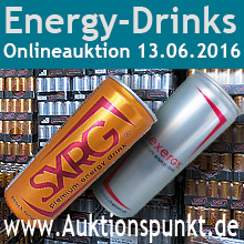 Energydrinks Sexergy - Sonderposten
