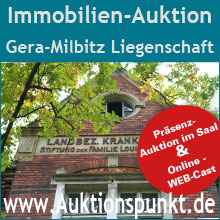 Immobilien Auktion Gera